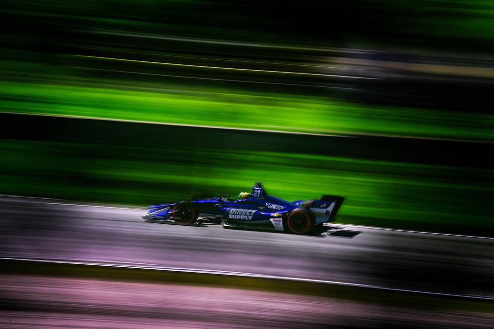 Spencer Pigot, Ed Carpenter Racing Chevrolet<br /> Saturday 23 June 2018<br /> KOHLER Grand Prix at Road America<br /> Verizon IndyCar Series<br /> Road America WI USA<br /> World Copyright: Scott R LePage