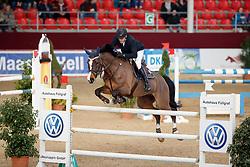 KNIPPLING Andreas (GER), Cristin<br /> Neustadt-Dosse - CSI 2018<br /> Finale Youngster Tour für 8 jährige Pferde<br /> © www.sportfotos-lafrentz.de/Stefan Lafrentz