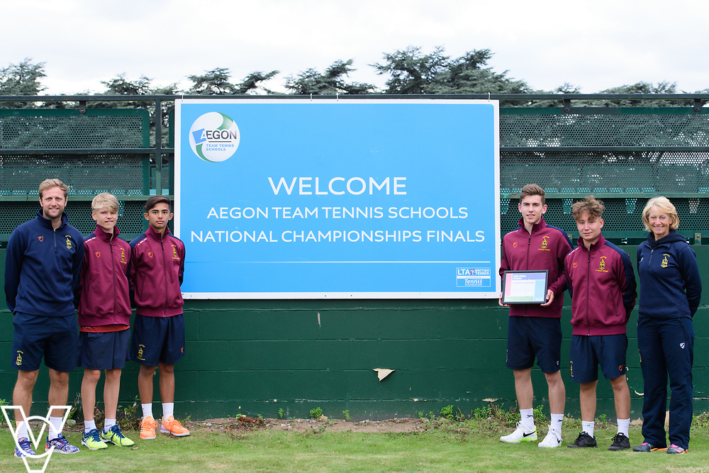Repton School<br /> <br /> Team Tennis Schools National Championships Finals 2017 held at Nottingham Tennis Centre.  <br /> <br /> Picture: Chris Vaughan Photography for the LTA<br /> Date: July 14, 2017