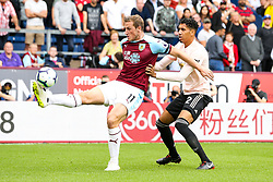 Chris Wood of Burnley takes on Chris Smalling of Manchester United - Mandatory by-line: Robbie Stephenson/JMP - 02/09/2018 - FOOTBALL - Turf Moor - Burnley, England - Burnley v Manchester United - Premier League