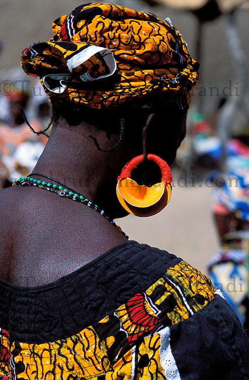 Mali, Djenné, Patrimoine mondial de l'UNESCO, Grande mosquée, Marché du lundi // Mali, Djenne, Unesco World Heritage, Monday market