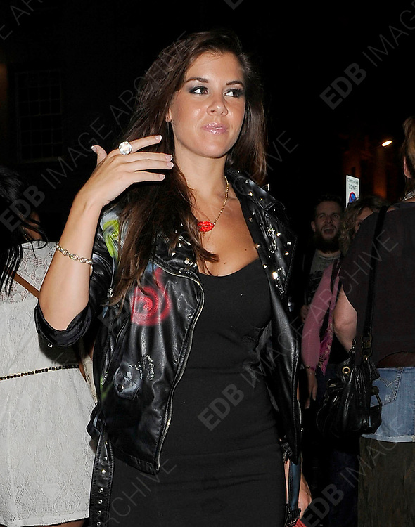 28.SEPTEMBER.2011. LONDON<br /> <br /> IMOGEN THOMAS LEAVING THE FREEMASONS HALL FOR THE ROCK OF AGES GALA NIGHT IN LONDON<br /> <br /> BYLINE: EDBIMAGEARCHIVE.COM<br /> <br /> *THIS IMAGE IS STRICTLY FOR UK NEWSPAPERS AND MAGAZINES ONLY*<br /> *FOR WORLD WIDE SALES AND WEB USE PLEASE CONTACT EDBIMAGEARCHIVE - 0208 954 5968*