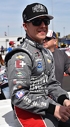 March 9, 2019 - Phoenix, Arizona, U.S. - PHOENIX, AZ - MARCH 09:  John Hunter Nemechek (23) Fire Alarm Services, INC Chevrolet on pit lane prior to start of the  NASCAR Xfinity iK9 Service Dog 200 race on March 09, 2019 at ISM Raceway in Phoenix, AZ.  (Photo by Lyle Setter/Icon Sportswire) (Credit Image: © Lyle Setter/Icon SMI via ZUMA Press)