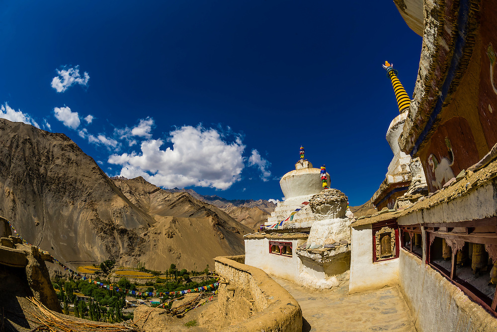 The Lamayuru Monastery, Ladakh, Jammu and Kashmir State, India.