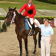 John Williams (USA) and Sweepea Dean win the CCI2* at the 2007 CCI Bromont Three Day Event/Todd Sandler Challenge held in Bromont, Quebec, Canad