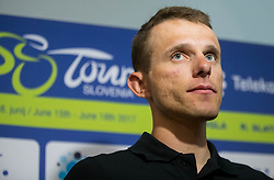 Rafal Majka (POL, Bora - Hansgrohe team) during press conference of 24th Tour of Slovenia 2017 / Tour de Slovenie cycling race on June 14, 2017 in City museum, Ljubljana, Slovenia. Photo by Vid Ponikvar / Sportida