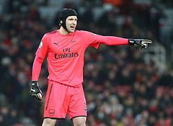 December 16, 2017 - London, England, United Kingdom - Arsenal's Petr Cech..during Premier League match between Arsenal and Newcastle United at The Emirates , London 16 Dec  2017  (Credit Image: © Kieran Galvin/NurPhoto via ZUMA Press)