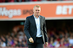 Brentford manager Dean Smith - Mandatory by-line: Dougie Allward/JMP - 15/08/2017 - FOOTBALL - Griffin Park - Brentford, England - Brentford v Bristol City - Sky Bet Championship