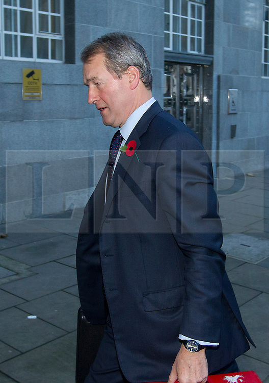 © Licensed to London News Pictures. 07/11/2012. London, UK. Owen Paterson, the Secretary of State for Environment is seen arriving at Department for Environment, Food and Rural Affairs (DEFRA) in London today (07/11/12). Photo credit: Matt Cetti-Roberts/LNP