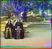 What Russian Empire Looked Like Before 1917… In Colour<br /> <br /> <br /> The Sergei Mikhailovich Prokudin-Gorskii Collection features colour photographic surveys of the vast Russian Empire made between ca. 1905 and 1915. Frequent subjects among the 2,607 distinct images include people, religious architecture, historic sites, industry and agriculture, public works construction, scenes along water and railway transportation routes, and views of villages and cities. An active photographer and scientist, Prokudin-Gorskii (1863-1944) undertook most of his ambitious colour documentary project from 1909 to 1915. <br /> <br /> Photo Shows; Armenian women in holiday attire. [Artvin] (between 1905 and 1915)<br /> ©Library of Congress/Prokudin-Gorskii/Exclusivepix Media