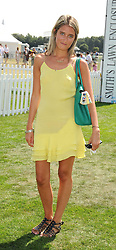 VIOLET VON WESTENHOLZ at the Cartier International Polo at Guards Polo Club, Windsor Great Park on 27th July 2008.<br /> <br /> NON EXCLUSIVE - WORLD RIGHTS