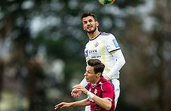 Saša Ivković of Maribor during Football match between NK Triglav and NK Maribor in 25th Round of Prva liga Telekom Slovenije 2018/19, on April 6, 2019, in Sports centre Kranj, Slovenia. Photo by Vid Ponikvar / Sportida