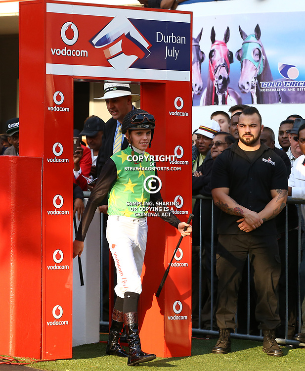 General views during RACE 7 THE VODACOM DURBAN JULY (Grade 1) - 2200m &ndash; R4 250 000 at THE VODACOM DURBAN JULY at Greyville Racecourse in Durban, South Africa on 1st July 2017<br /> Photo by:  Steve Haag Sports