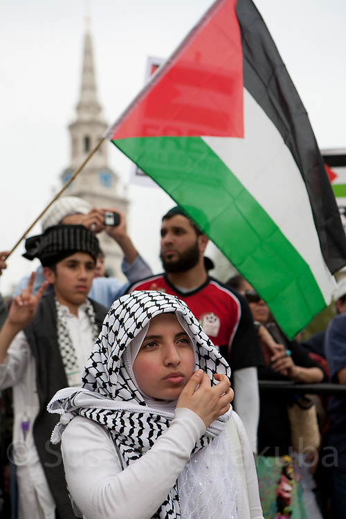 60 year anniversary of Nakba, London, UK
