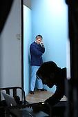Behind the Scenes at Baftas TV Nominees shoot Holborn studios April 2013