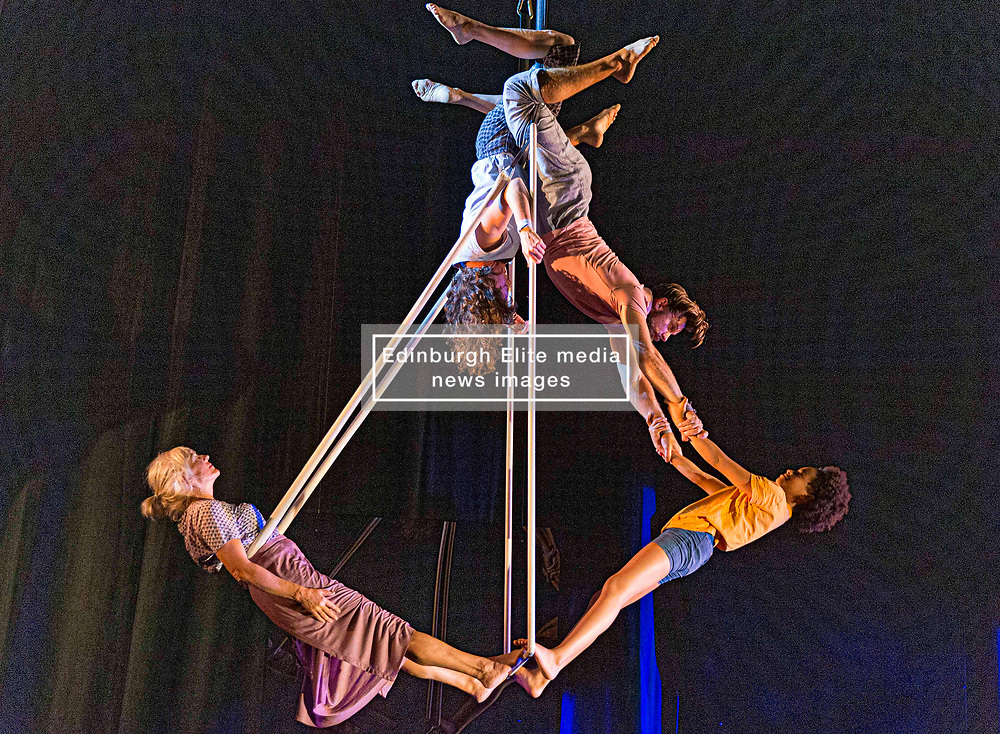 Theatre Company Ockham's Razor perform This Time at St Stephen's Church in Edinburgh as part of the Edinburgh Fringe Festival