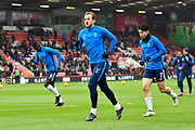 Harry Kane (10) of Tottenham Hotspur warming up before the Premier League match between Bournemouth and Tottenham Hotspur at the Vitality Stadium, Bournemouth, England on 11 March 2018. Picture by Graham Hunt.