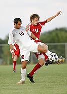 OC Men's Soccer vs Friends - 8/30/2007