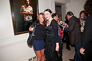 MELANIE BLATT; LOIS WINSTONE;, Opening of 'The Promised Land' Exhibition of work by Mitch Griffiths. Halcyon Gallery. Bruton St. London. 28 April 2010 *** Local Caption *** -DO NOT ARCHIVE-© Copyright Photograph by Dafydd Jones. 248 Clapham Rd. London SW9 0PZ. Tel 0207 820 0771. www.dafjones.com.<br /> MELANIE BLATT; LOIS WINSTONE;, Opening of 'The Promised Land' Exhibition of work by Mitch Griffiths. Halcyon Gallery. Bruton St. London. 28 April 2010