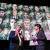 Nederland, Amsterdam , 14 november 2016.<br /> <br /> Burgemeester Eberhard van der Laan tijdens opening taskforce kindermishandeling en seksueel misbruik in Eye Amsterdam. <br /> 'Een mishandeld kind heeft maar één persoon nodig om voor hem of haar de cirkel van geweld te doorbreken. Kijk dus niet weg, maar kom in actie bij een vermoeden van kindermishandeling'. Deze oproep doet de Taskforce kindermishandeling en seksueel misbruik met de online campagne #ikkijknietweg in de door haar georganiseerde Week tegen Kindermishandeling. Deze week vindt plaats van 14 t/m 20 november. Bij de start op maandag 14 november presenteert de Taskforce ook haar eindrapportage met daarin een advies om het aantal mishandelde kinderen (ieder jaar 119.000) fors terug te dringen.(bron: http://www.taskforcekinderenveilig.nl)<br /> <br /> Foto: Jean-Pierre Jans