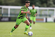 Forest Green Rovers Liam Shephard(2) runs forward during the EFL Sky Bet League 2 match between Forest Green Rovers and Crawley Town at the New Lawn, Forest Green, United Kingdom on 5 October 2019.