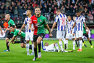 NIJMEGEN, NEC - SC Heerenveen, voetbal, Eredivisie seizoen 2015-2016, 18-09-2015, Stadion De Goffert, NEC speler Christian Santos (M) heeft de 2-0 gescoord.