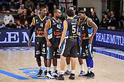 DESCRIZIONE : Campionato 2014/15 Serie A Beko Dinamo Banco di Sardegna Sassari - Upea Capo D'Orlando<br /> GIOCATORE : Team Upea Capo D'Orlando<br /> CATEGORIA : Time Out Before Pregame<br /> SQUADRA : Upea Capo D'Orlando<br /> EVENTO : LegaBasket Serie A Beko 2014/2015<br /> GARA : Dinamo Banco di Sardegna Sassari - Upea Capo D'Orlando<br /> DATA : 22/03/2015<br /> SPORT : Pallacanestro <br /> AUTORE : Agenzia Ciamillo-Castoria/L.Canu<br /> Galleria : LegaBasket Serie A Beko 2014/2015