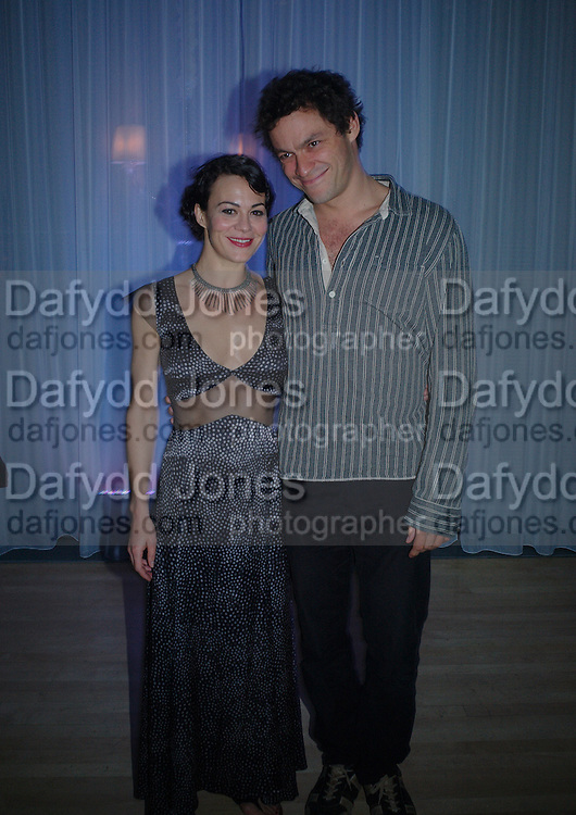 Helen McCrory and  Dominic West. An evening in aid of cancer charity Clic Sargent held at the Sanderson Hotel, Berners Street, London on 4th July 2005ONE TIME USE ONLY - DO NOT ARCHIVE  © Copyright Photograph by Dafydd Jones 66 Stockwell Park Rd. London SW9 0DA Tel 020 7733 0108 www.dafjones.com