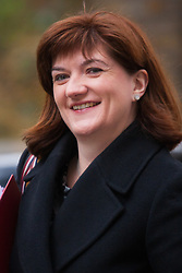 London, March 24th 2015. Members of the Cabinet gather at Downing street for their weekly meeting. PICTURED: Education Sectretary, Nicky Morgan