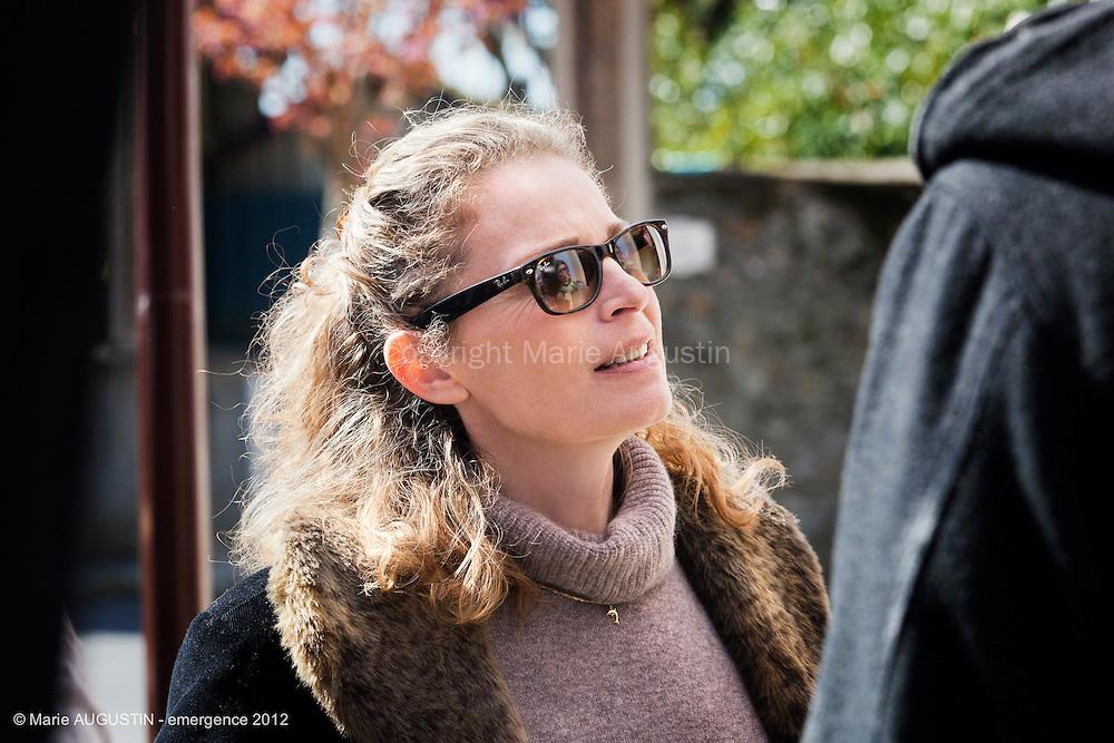 """Isabelle RENAULD - tournage scène libre """"Paris-Brest"""" de Benoît BOURREAU - emergence 2012"""