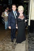 Barbara Windsor, The Amy Winehouse Foundation Ball, Dorchester Hotel, London UK, 20 November 2013, Photo by Raimondas Kazenas