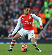 Arsenal v Middlesbrough 150215