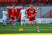 Aberdeen FC Forward Adam Rooney on the move during the Ladbrokes Scottish Premiership match between Hamilton Academical FC and Aberdeen at New Douglas Park, Hamilton, Scotland on 22 November 2015. Photo by Craig McAllister.