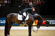 Morgan Barbancon Mestre - Sir Donnerhall II<br /> FEI Longines FEI World Cup Paris 2018<br /> © DigiShots