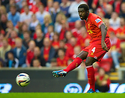 27.08.2013, Anfield, Liverpool, ENG, League Cup, FC Liverpool vs Notts County FC, 2. Runde, im Bild Liverpool's Kolo Toure in action against Notts County during the English League Cup 2nd round match between Liverpool FC and Notts County FC, at Anfield, Liverpool, Great Britain on 2013/08/27. EXPA Pictures © 2013, PhotoCredit: EXPA/ Propagandaphoto/ David Rawcliffe<br /> <br /> ***** ATTENTION - OUT OF ENG, GBR, UK *****