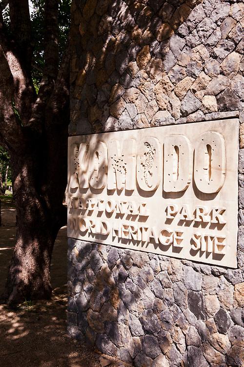 Komodo Island National Park.