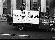 St Patrick's Day Parade.1982.17/03/1982.03.17.1982.Birr Vintage Week was represented by this float in the parade.