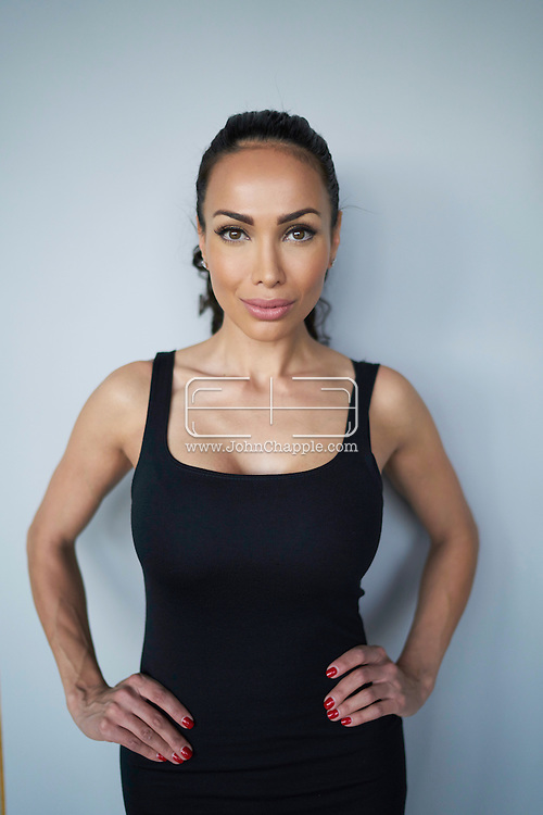 December 29, 2016. Los Angeles, California. Founder and CEO of Drip Doctors, Jamila Sozahdah, who is at the centre of Samir Nasri&rsquo;s bizarre Twitter scandal.<br /> Photo Copyright John Chapple / www.JohnChapple.com /