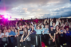 Fans at the main stage..T in the Park, 8th July 2001..Pic ©2010 Michael Schofield. All Rights Reserved.