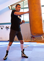 23.08.2011, Stanglwirt, Going, AUT, Vitali Klitschko, Training, im Bild // during a trainingssession at Hotel Stanglwirt in Going, Austria on 23/8/2011. EXPA Pictures © 2010, PhotoCredit: EXPA/ J. Groder