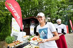 Kaja Juvan at Petrol VIP tournament 2018, on May 24, 2018 in Sports park Tivoli, Ljubljana, Slovenia. Photo by Vid Ponikvar / Sportida