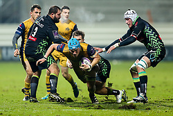 Olly Robinson of Bristol Rugby - Rogan Thomson/JMP - 16/12/2016 - RUGBY UNION - Stade du Hameau - Pau, France - Pau v Bristol Rugby - EPCR Challenge Cup.