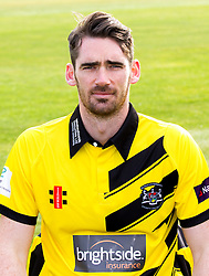 Chris Liddle of Gloucestershire Cricket poses for a headshot in the NatWest T20 Blast kit - Mandatory by-line: Robbie Stephenson/JMP - 04/04/2016 - CRICKET - Bristol County Ground - Bristol, United Kingdom - Gloucestershire  - Gloucestershire Media Day