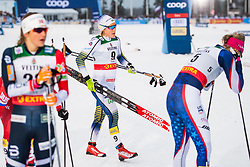 November 24, 2018 - Ruka, FINLAND - 181124 Hanna Falk of Sweden looks dejected after competing in a women's sprint classic technique quarterfinal during the FIS Cross-Country World Cup premiere on November 24, 2018 in Ruka  (Credit Image: © Carl Sandin/Bildbyran via ZUMA Press)
