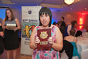Special Achievement Winner, Linda O?Connell, Ballybane at the Ability WestBest Buddies ball at the Menlo Park Hotel, Galway. Photo:Andrew Downes Photography.