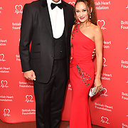 David Seaman and Frankie Poultney attends The British Heart Foundation's Heart Hero Awards at The Globe Theatre, to celebrate and say thank you to the charity's inspirational supporters. Picture date: Friday 5 October 2018. Hosted by Kay Burley, awards went to selfless fundraisers and those who have shown remarkable bravery and gone above and beyond to help others. Nominations are now open for next year's Heart Hero Awards.