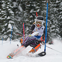 Girls Slalom 2nd run - Cascade Cup 2013
