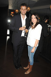 RICHARD BACON and REBECCA MCFARLANE at a party to celebrate the publication of Piers Morgan's book 'Don't You Know Who I Am?' held at Paper, 68 Regent Street, London W1 on 18th April 2007.<br /><br />NON EXCLUSIVE - WORLD RIGHTS