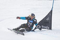 Mortila Zaharescu during the FIS snowboarding world cup race in Rogla (SI / SLO) | GS on January 20, 2018, in Jasna Ski slope, Rogla, Slovenia. Photo by Urban Meglic / Sportida