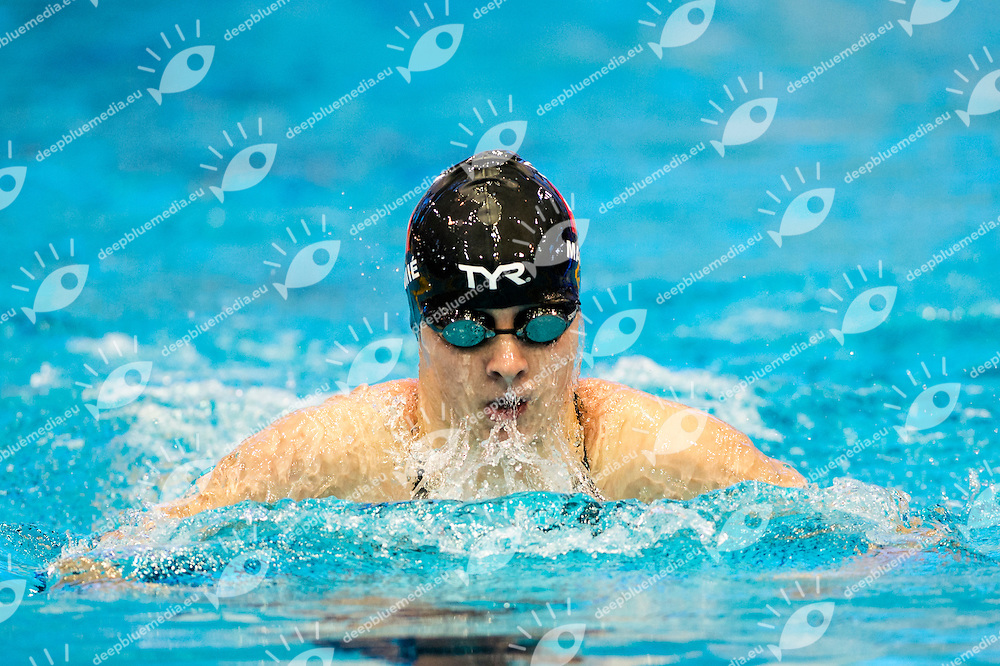MAMIE Lisa SUI<br /> 100m Medley Women Heats<br /> Netanya, Israel, Wingate Institute<br /> LEN European Short Course Swimming Championships Dec. 2 - 6, 2015 Day02 Dec.03<br /> Nuoto Campionati Europei di nuoto in vasca corta<br /> Photo Giorgio Scala/Deepbluemedia/Insidefoto